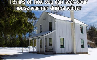Tips & Tricks: 13 Ways To A Warmer Home This Winter
