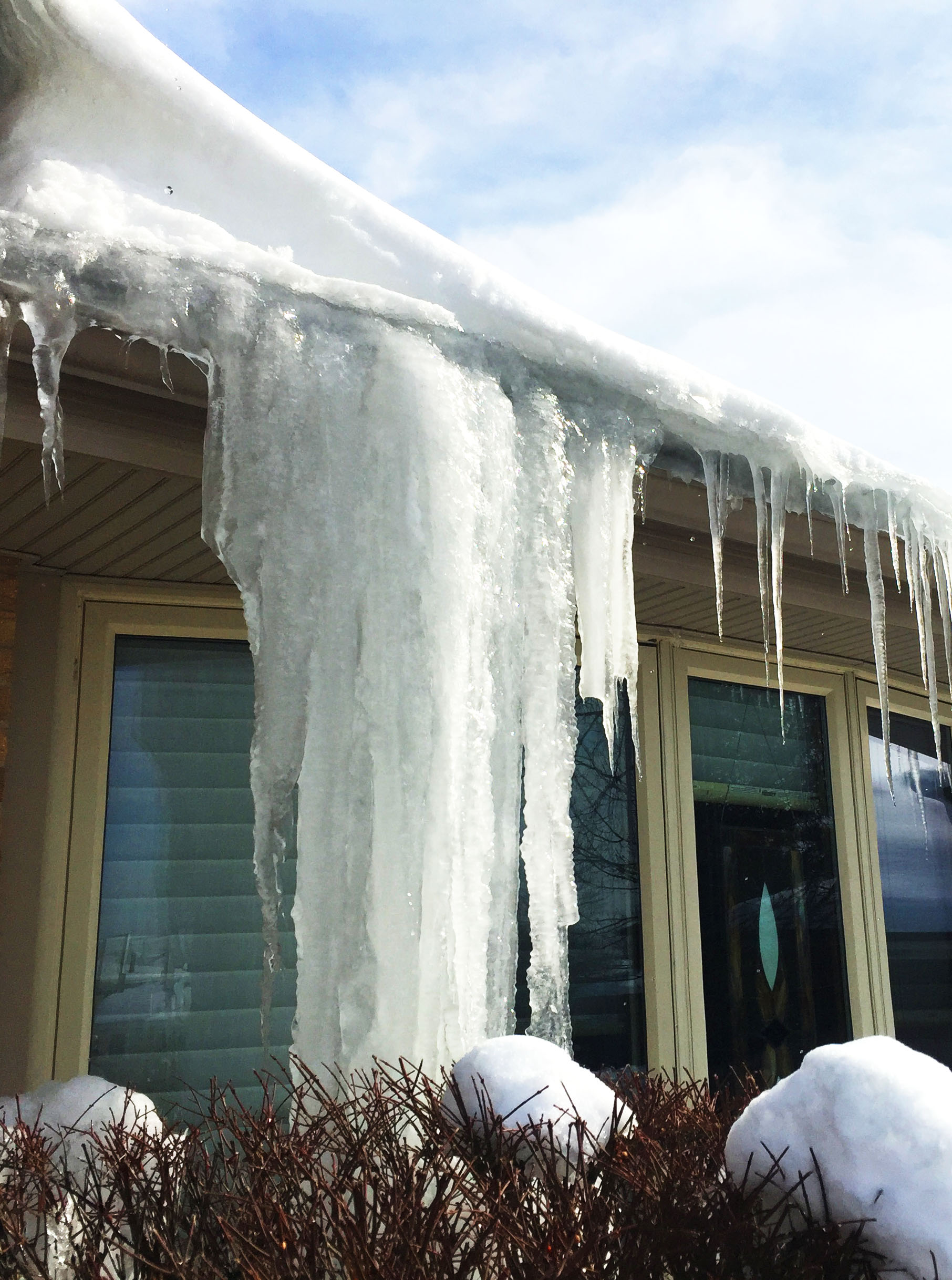 Roof Damage Prevention from ice dams
