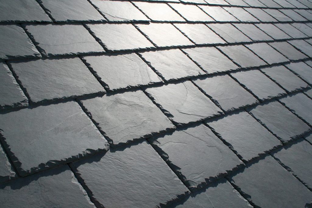 slate stone roof material