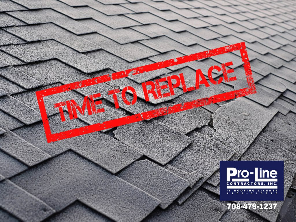 time to repair the roof shingles